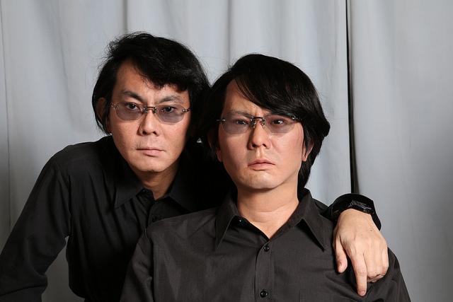 Hiroshi Ishiguro und Kopie