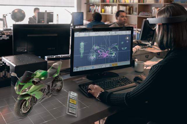 HoloLens, Holo Studio, Microsoft