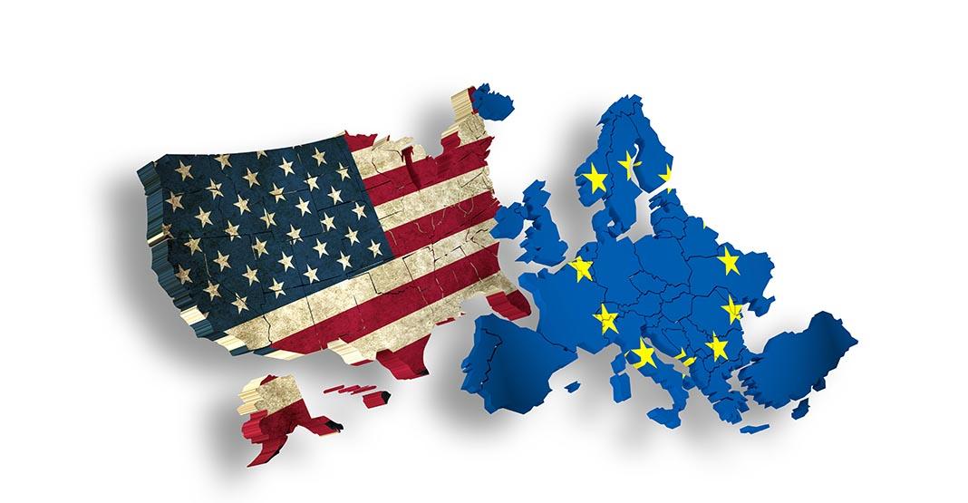 Am Freihandelsabkommen TTIP zwischen den USA und Europa scheiden sich die Geister (Bild: goa_novi | istock | Thinkstockphotos