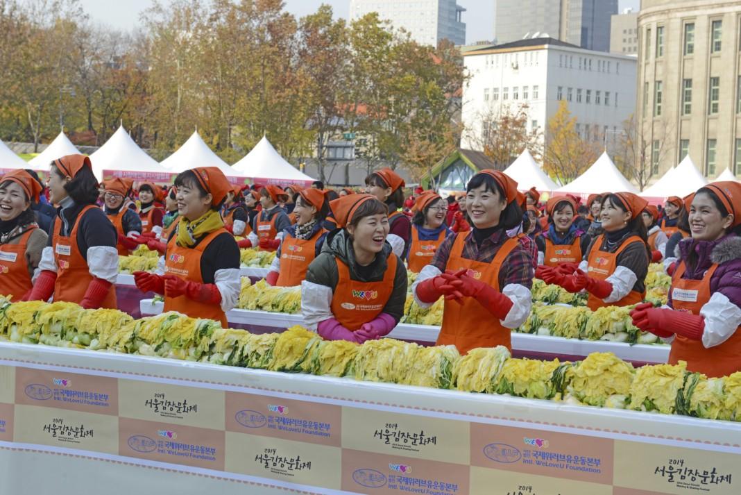 Kim Chi für alle: Die Kultur des Teilens
