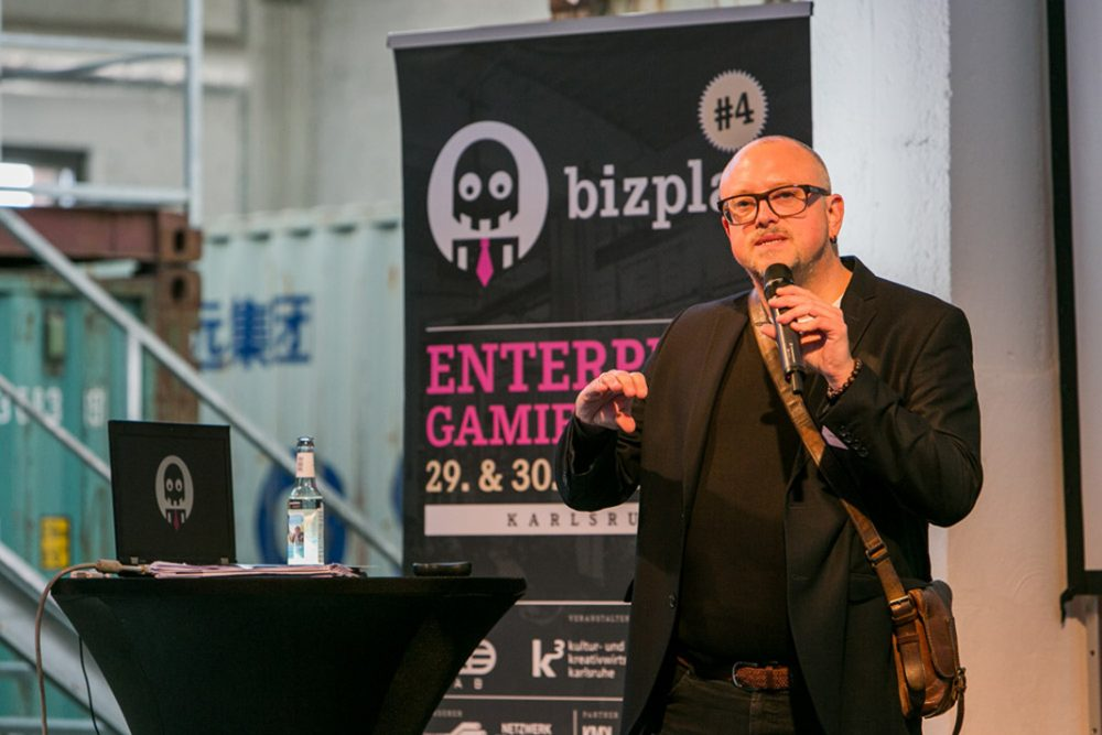 Steffen P. Walz ist Gamification Experte und Kurator der bizplay (Bild: Sandra Y. Jacques)