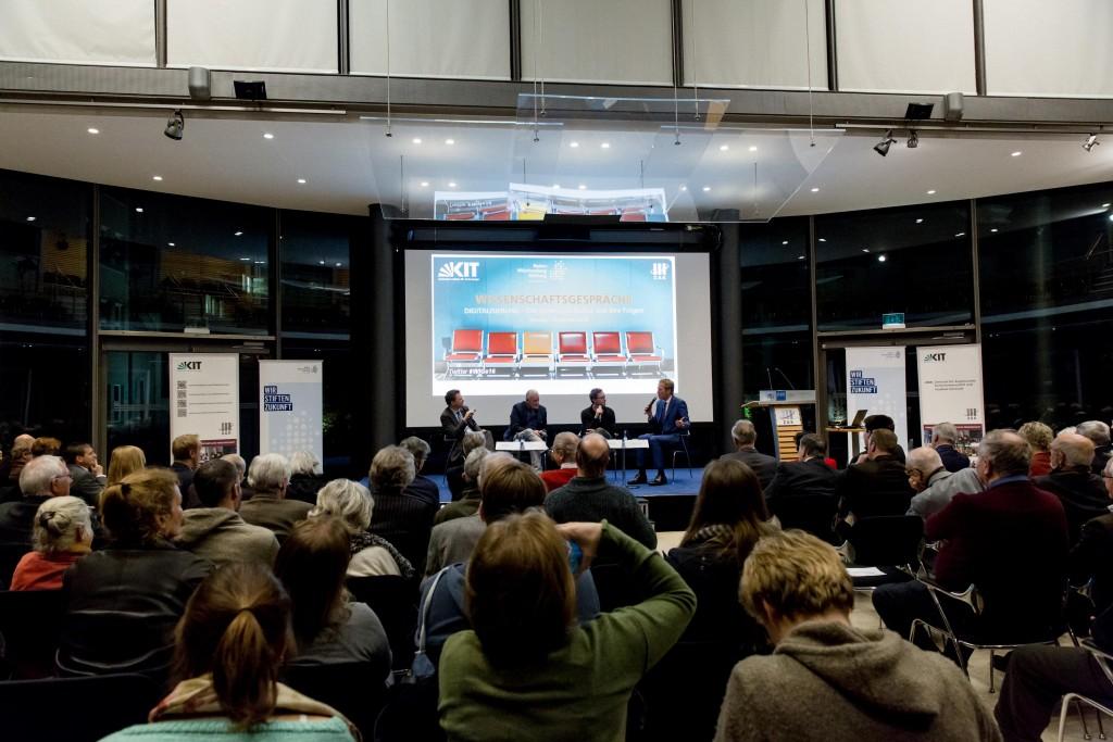 Wissenschaftsgespräche ZAK Karlsruhe