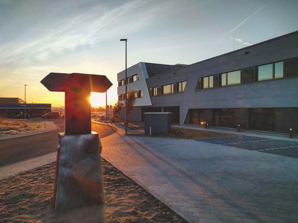 Der TUP-Campus ist eine Begegnungsstätte für alle Mitarbeiter.