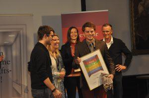 Tomes GmbH gewinnt den Regional Cup Freiburg © Elevator Pitch BW 2015/2016