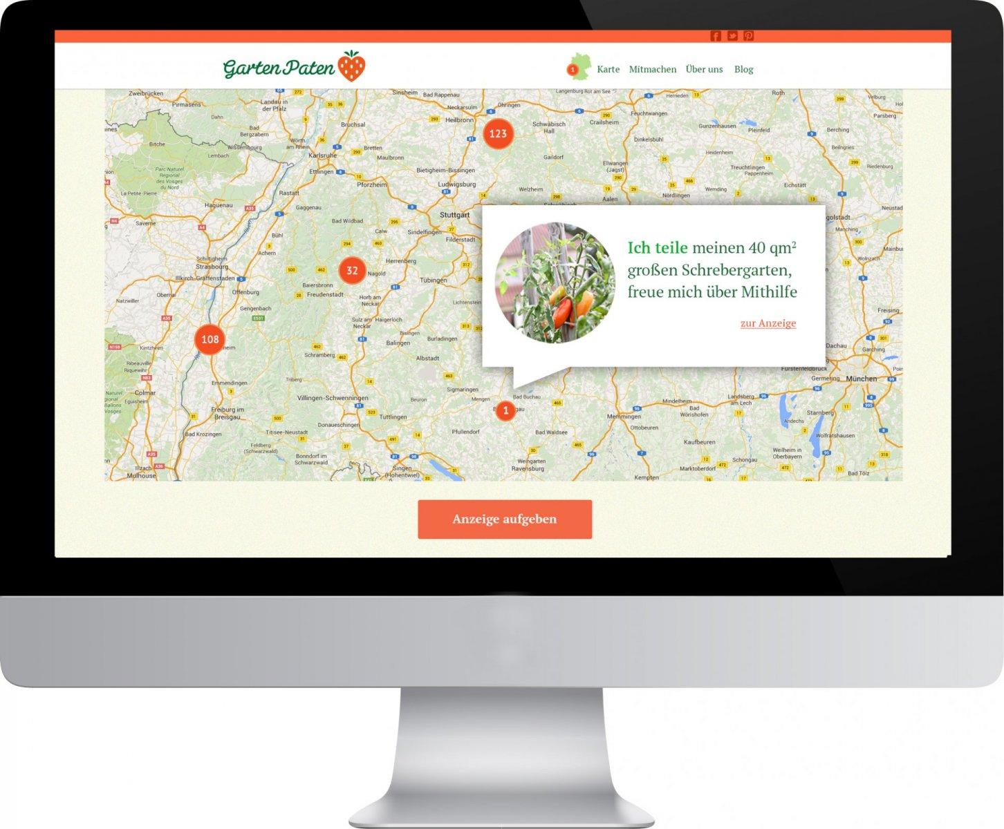 Gartenpaten Website
